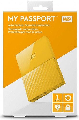 Western Digital Внешний HDD 1Tb WDBBEX0010BYL-EEUE