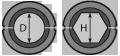Матрица А-25/60т для алюминиевого зажима