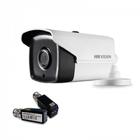 HIKVISION DS-2CE16F1T-IT3 (3,6 ММ) 3МП + DS-1H18