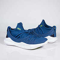 Кроссовки Under Armour Curry 5 Low Blue White