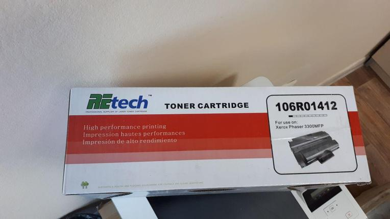 Тонер картридж 106R01412 for Xerox Phaser 3300MFP, фото 2