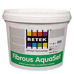 BETEK FIBRIOUS AQUASET Гидроизоляционное покрытие на акриловой основе для бассейнов 3кг