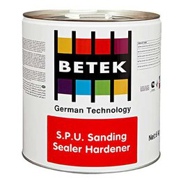 BETEK SUPER P.U. GLOSS VARNISH  - HARDENER Отвердитель 3кг