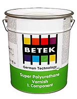 BETEK SUPER P.U.  SILK MATT VARNISH  - HARDENER Отвердитель 3кг