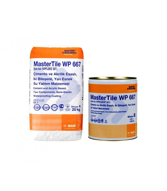 MasterTile WP 668 PCI LASTOGUM (White, grey)