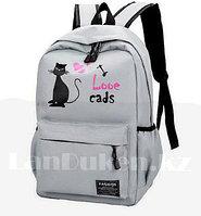 59830e59a965 Женский рюкзак кошка в категории рюкзаки и портфели школьные в ...