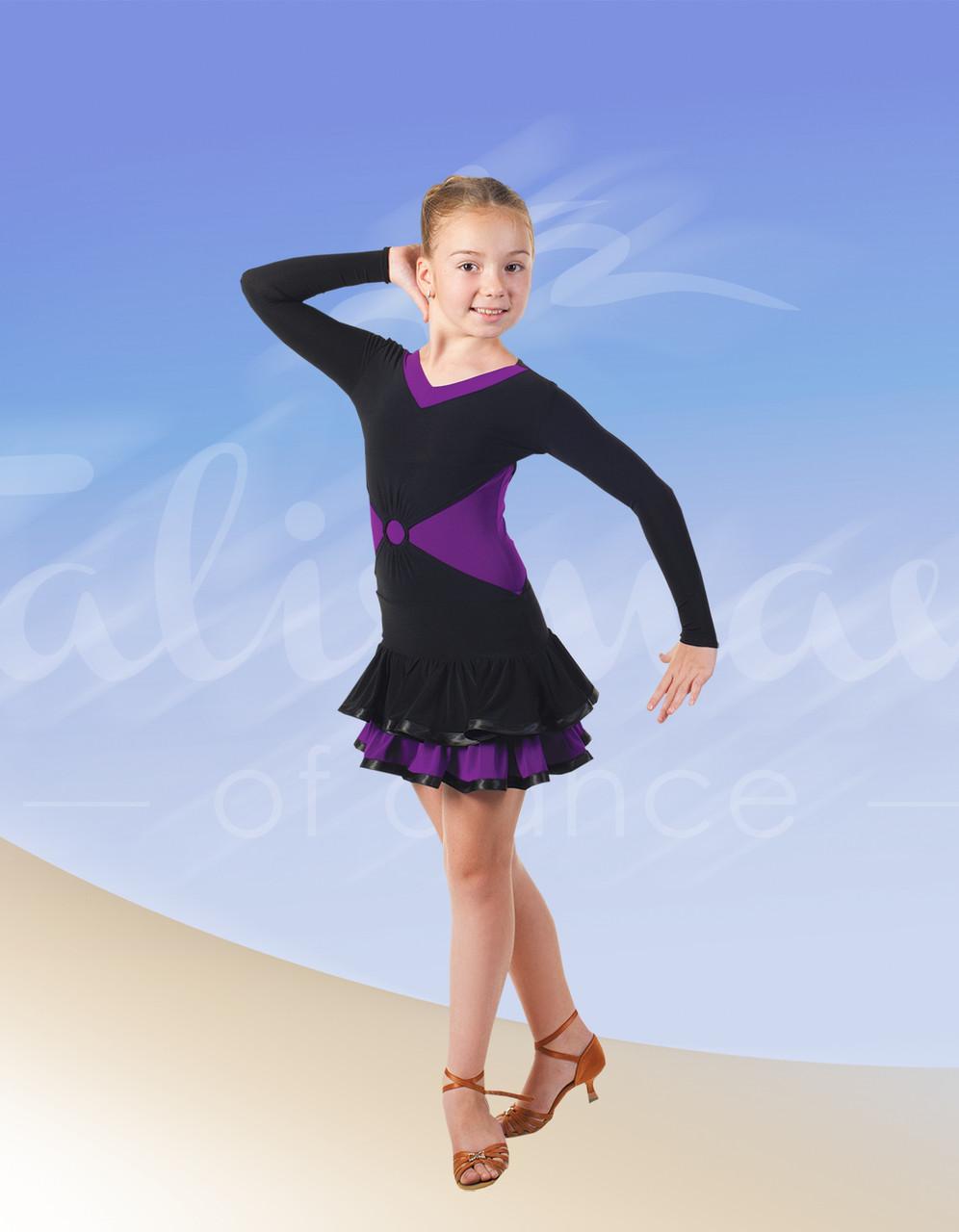 Платье для девочки танцевальное ПЛ-488