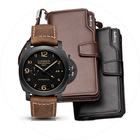 Комплект клатч Baellery Business + часы Luminor Panerai