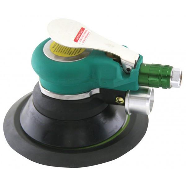 Машинка шлифовальная пневматическая орбитальная с пылеотводом 9000 об./мин.,  O150 мм (JAS-6698-6HE)