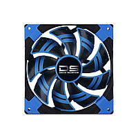 Кулер для кейса AeroCool Dead Silence fan Blue Edition 120мм Чёрно-синий