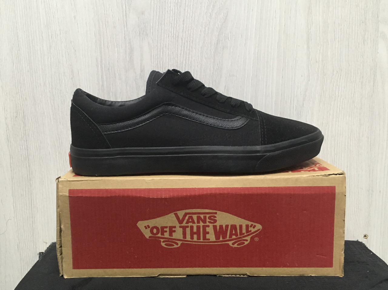 Кеды Vans Old Skool (All Black)