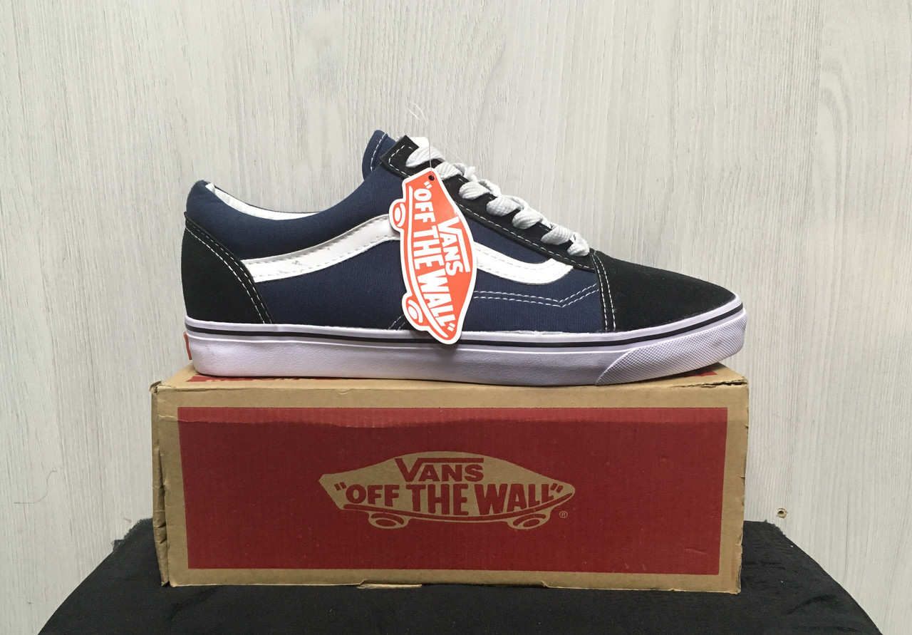 Кеды Vans Old Skool (Black&Blue)