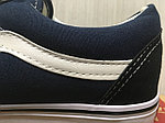 Кеды Vans Old Skool (Black&Blue), фото 3