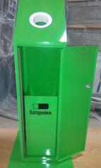 Контейнер для сбора, хранения, транспортировки отработанных батареек
