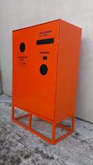 Контейнер для сбора, накопления и хранения отработанных энергосберегающих ламп, ртутных термометров и химическ