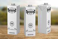 Разработка дизайна упаковки молока, фото 1