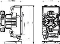 Дозирующий насос AKL600