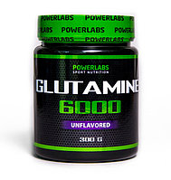 ГЛЮТАМИН POWERLABS L-GLUTAMINE 6000 300 g