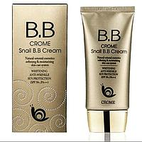 """Crome"" Snail BB Cream - Улиточный BB крем для лица"
