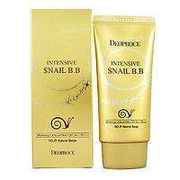Deoproce Intensive Snail BB Cream - Улиточный BB крем