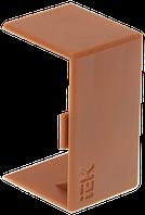 Соединитель на стык 40х25 КМС дуб, фото 1