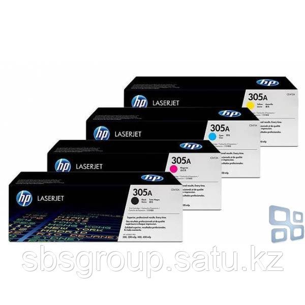 Картридж HP CE411A, 305A (cyan) ORIGINAL для LaserJet Pro 300 Color М351/MFP M375/400 Color M451/MFP M475, up to 2600 pages. ;