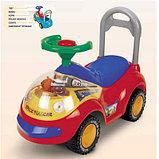 Машинка - каталка   Мишка, фото 2