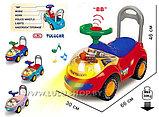 Машинка - каталка   Мишка, фото 3
