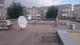 Настройка спутниковых  антенн диаметром 110. на спутники:  НТВ+ Express-AT1 @ 56°,  Yamal 401 @ 90°, Express-AM6 @ 53°,ABS-2/2A @ 74.9°.