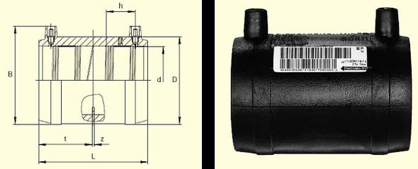 Муфта MB d125
