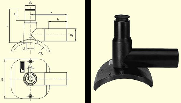 Электросварные фитигни DAA (Kit) d110/40