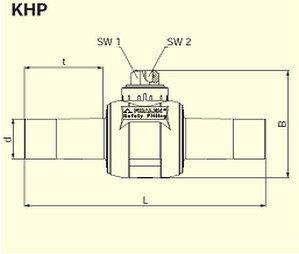 Электросварные фитигни KHP d32, фото 2