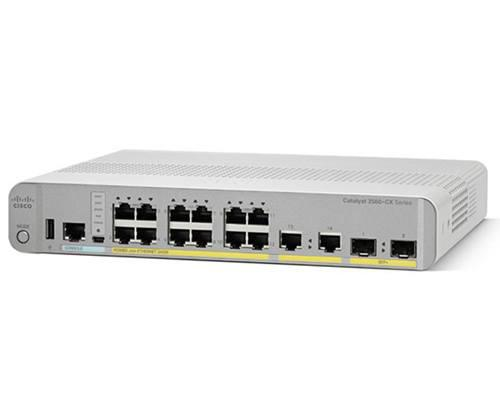 Коммутатор Cisco Catalyst, 8 x GE (PoE+), 2 x GE, IP Base WS-C3560CX-8PT-S