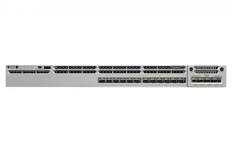 Коммутатор Cisco Catalyst, 12 x GE/SFP, IP Base WS-C3850-12S-S