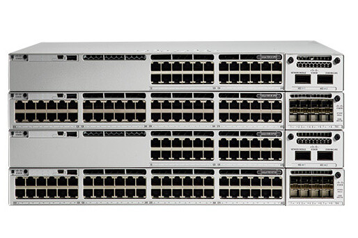 Коммутатор Cisco Catalyst, 48 x GE (PoE+), Network Essentials C9300-48P-E