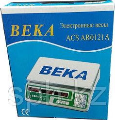 """Настольные торговые электронные весы """"BEKA ACS AR0121A"""" 35 кг"""