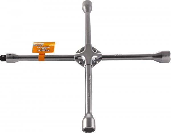 """Ключ баллонный крестообразный 17х19х21х22 мм, вставка 1/2""""DR (A90003)"""