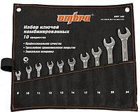Набор ключей гаечных комбинированных в сумке, 8-24 мм, 10 предметов (OMT10S)