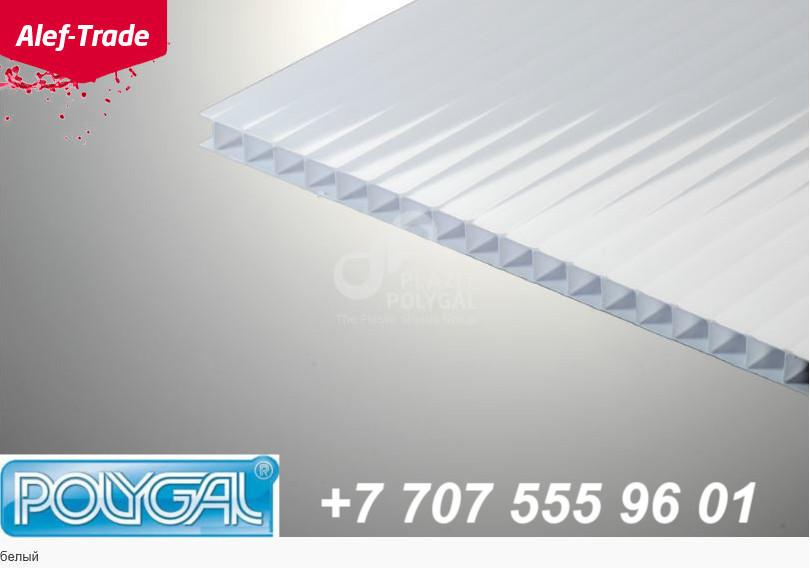 POLYGAL серии Стандарт, 10 мм (2,1х12 метров) Поликарбонат сотовый