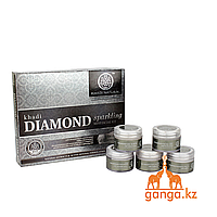 "Набор для лица ""Бриллиант"" (Diamond Sparkling Facial Kit KHADI), 5 шт * 15 г."