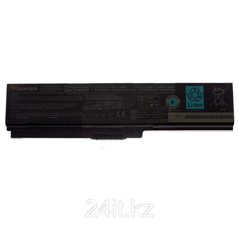 Аккумулятор для ноутбука Toshiba PA3817/ 10,8 В (совместим с 11,1 В)/ 4400 мАч, черный