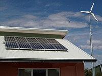 Автономная гибридная (ветро-солнечная) электростанция на 53 кВт/день (10,1 кВт/час)