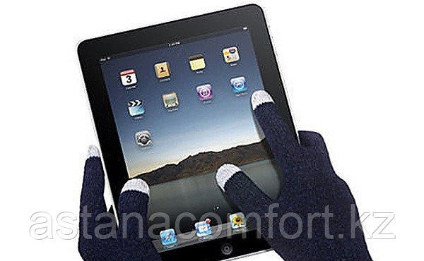 Перчатки для сенсорных экранов. Цвет в ассортименте.