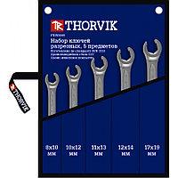 Набор ключей гаечных разрезных в сумке, 8-19 мм, 5 предметов (FNWS005), фото 1