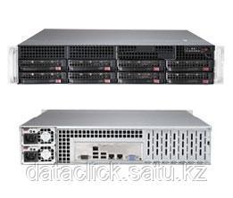 Supermicro CSE 825TQ-R720/X10DRi/2xIntel E5 2620/128GB ECC DDR4/Raid 2108/2*300GB SAS/4x1TB ES3/2*720W PS, фото 2