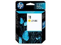 Картридж HP HP C4838A Yellow Ink Cartridge №11 for Business Inkjet 2200/2250, 28 ml, up to 2550 pages.