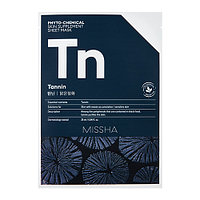 Тканевая маска Phytochemical Skin Supplement Sheet Mask (Tannin/Purifying)