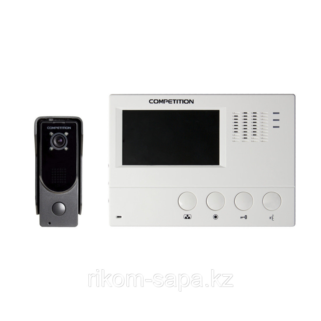Комплект домофона COMPETITION SAC7DN-CK+MT392C-CK2+адаптер