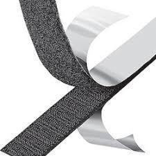 Крепежная лента липучка Hook & Loop на клеевой основе 50mm (25 метров в рулоне)