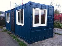 Утепленный контейнер для строителей
